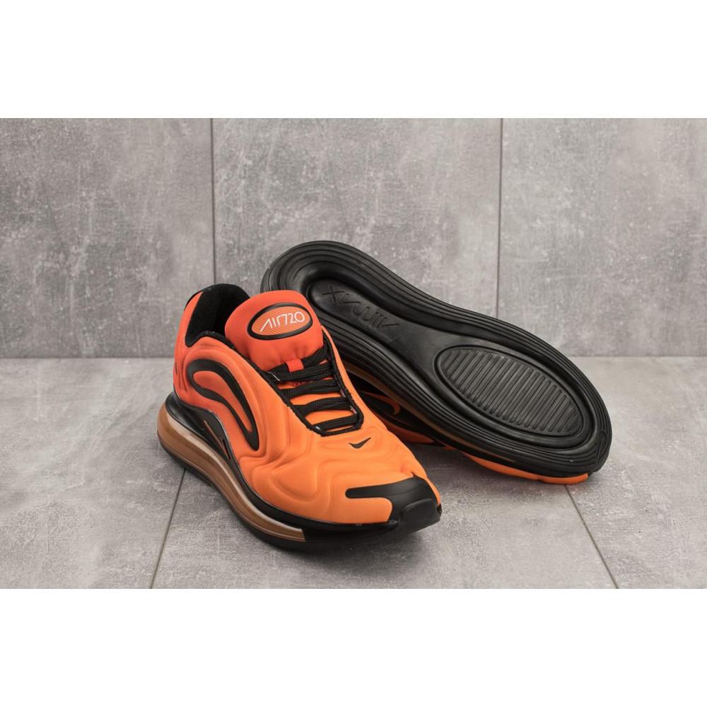 Демисезонные кроссовки мужские   - Мужские кроссовки текстильные весна/осень оранжевые Ditof A 1154 -9 3