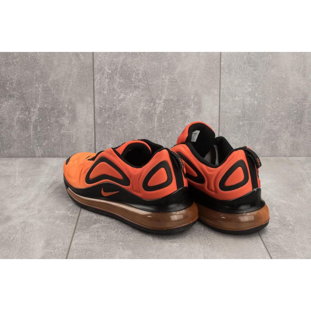 Демисезонные кроссовки мужские   - Мужские кроссовки текстильные весна/осень оранжевые Ditof A 1154 -9 4