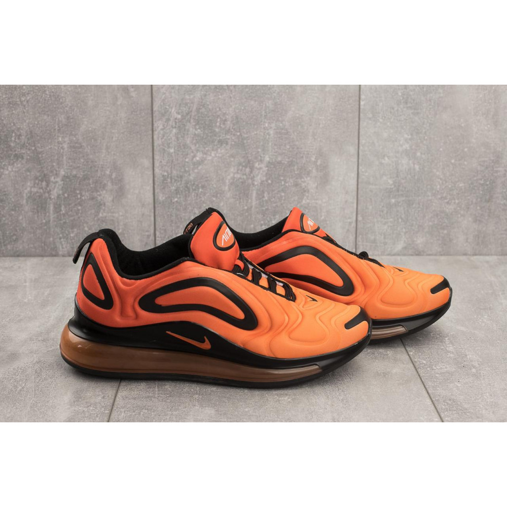 Демисезонные кроссовки мужские   - Мужские кроссовки текстильные весна/осень оранжевые Ditof A 1154 -9 2