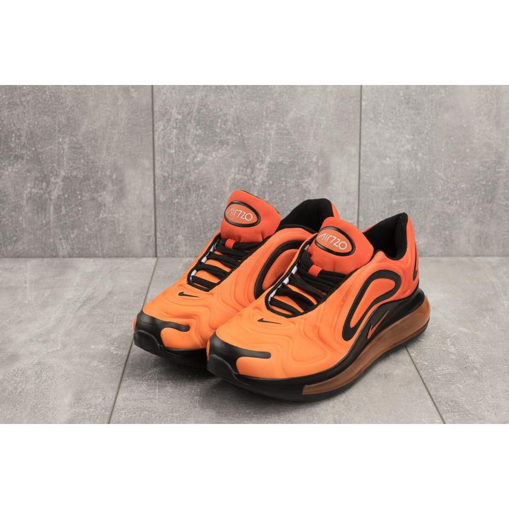 Демисезонные кроссовки мужские   - Мужские кроссовки текстильные весна/осень оранжевые Ditof A 1154 -9 1