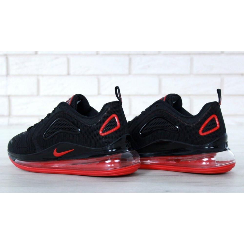 Классические кроссовки мужские - Мужские кроссовки Найк Аир Макс 720 Black Red 6