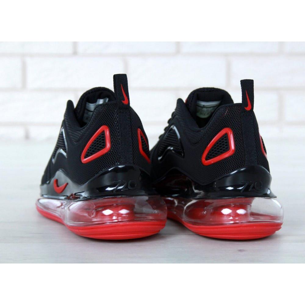 Классические кроссовки мужские - Мужские кроссовки Найк Аир Макс 720 Black Red 7