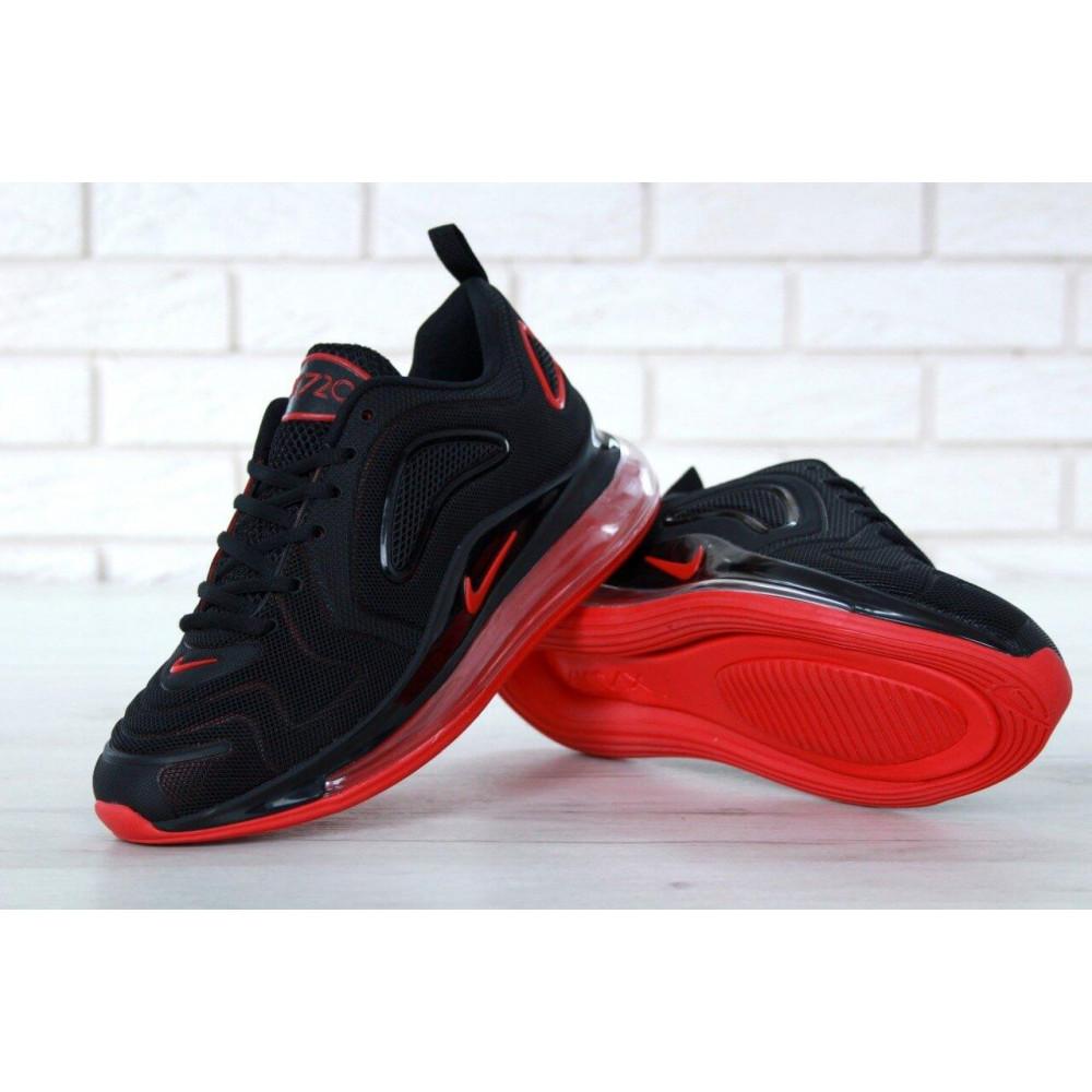 Классические кроссовки мужские - Мужские кроссовки Найк Аир Макс 720 Black Red 8