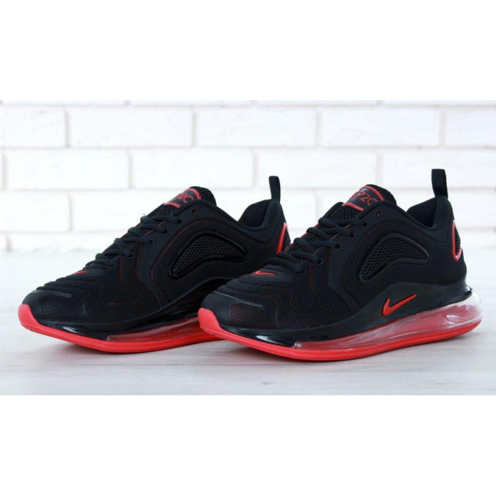 Классические кроссовки мужские - Мужские кроссовки Найк Аир Макс 720 Black Red 5