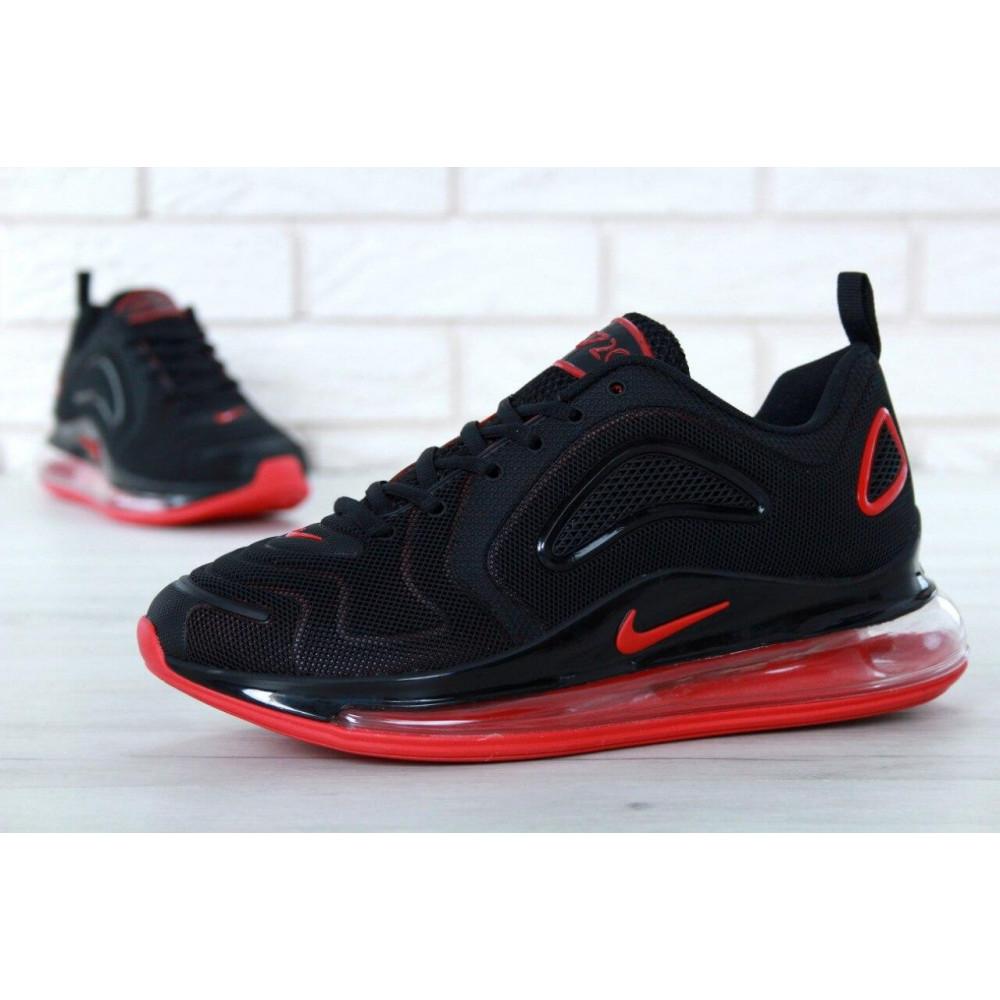 Классические кроссовки мужские - Мужские кроссовки Найк Аир Макс 720 Black Red 9