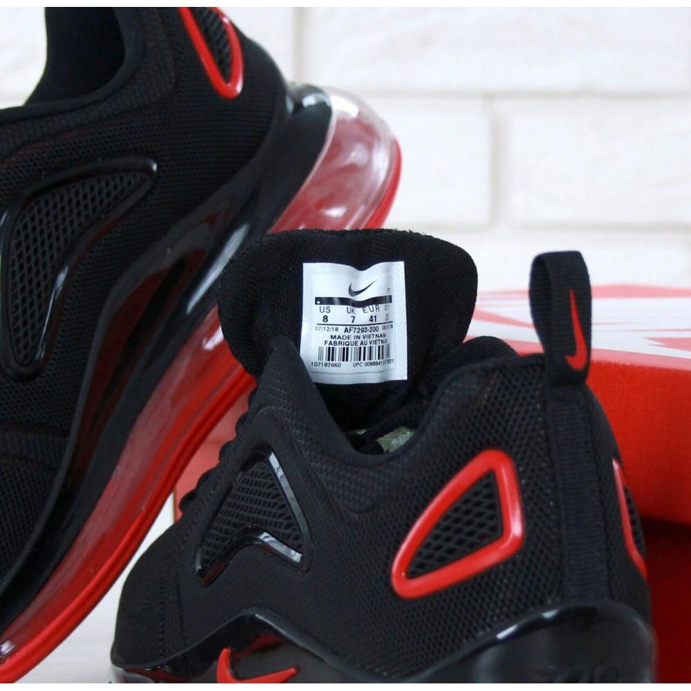Классические кроссовки мужские - Мужские кроссовки Найк Аир Макс 720 Black Red 3