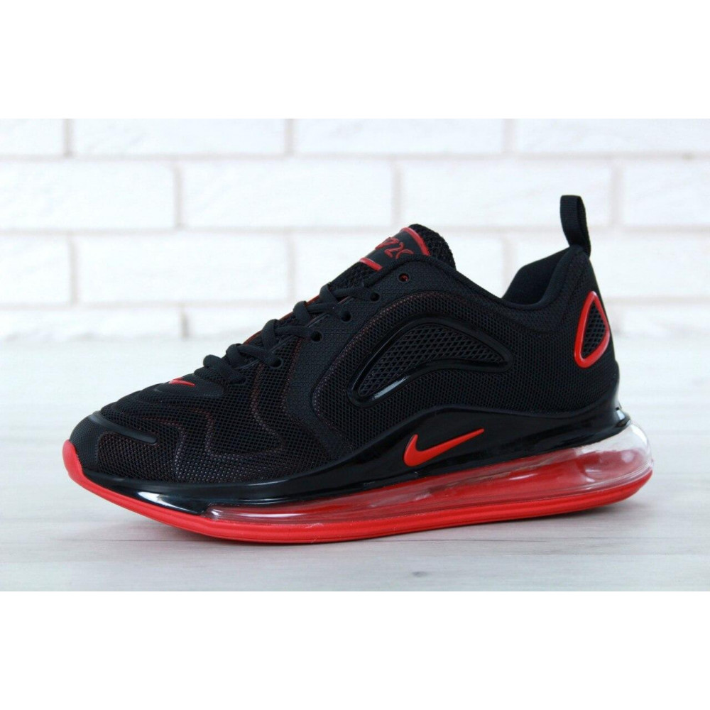 Классические кроссовки мужские - Мужские кроссовки Найк Аир Макс 720 Black Red 4