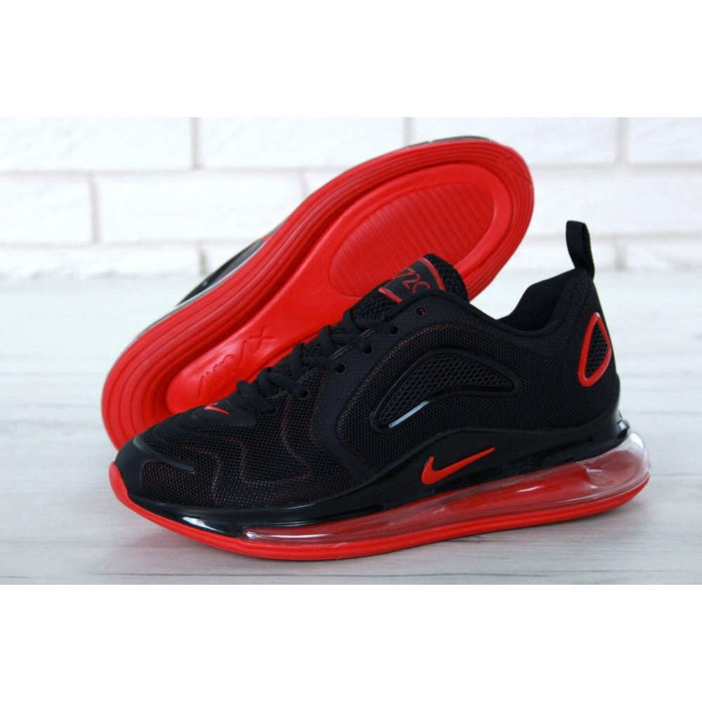 Классические кроссовки мужские - Мужские кроссовки Найк Аир Макс 720 Black Red 2
