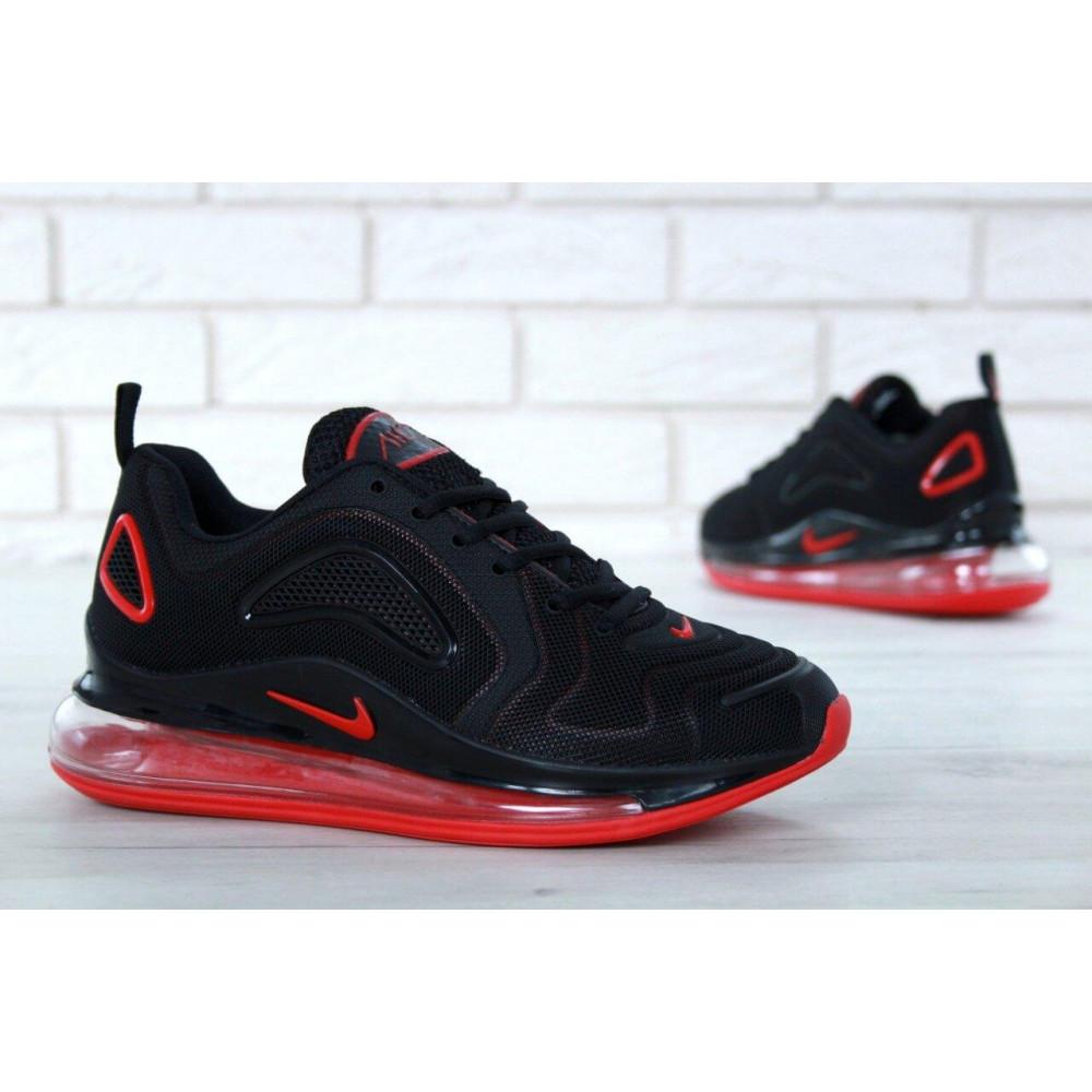 Классические кроссовки мужские - Мужские кроссовки Найк Аир Макс 720 Black Red 1
