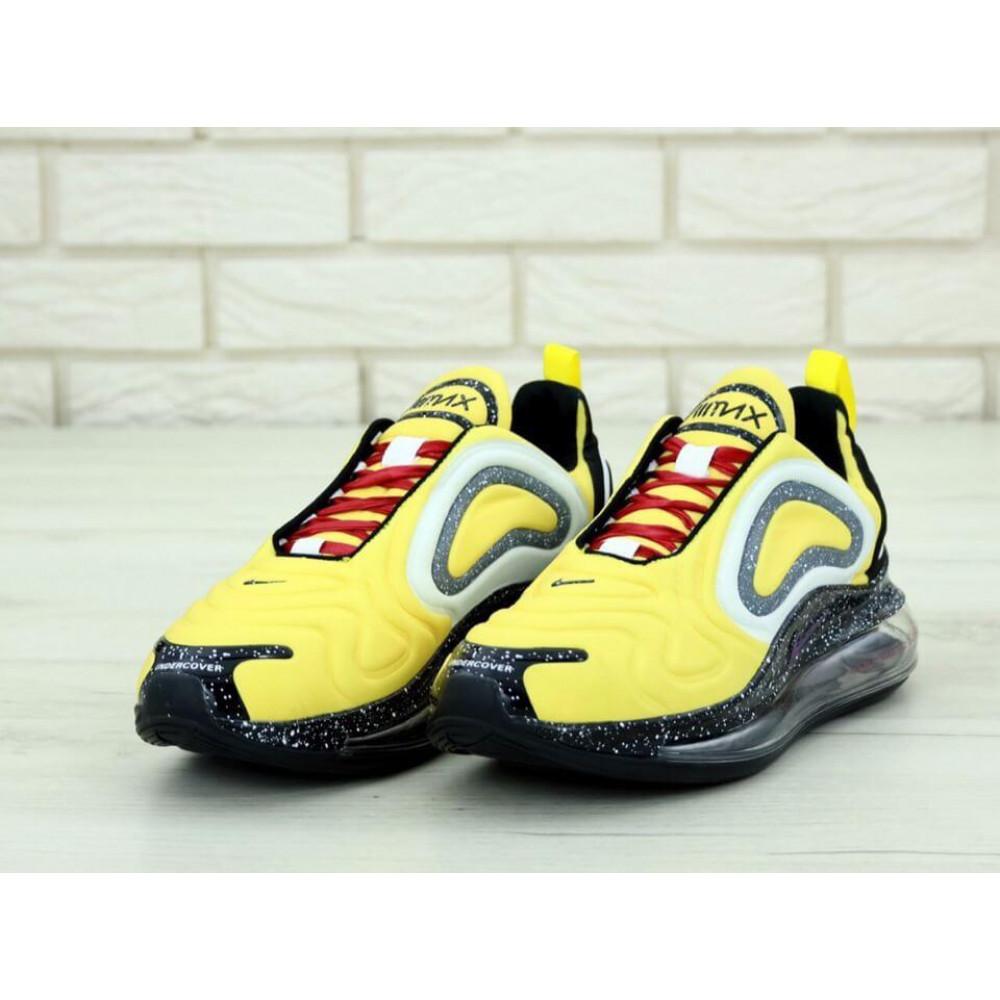 Классические кроссовки мужские - Мужские кроссовки Найк Аир Макс 720 желтые 2