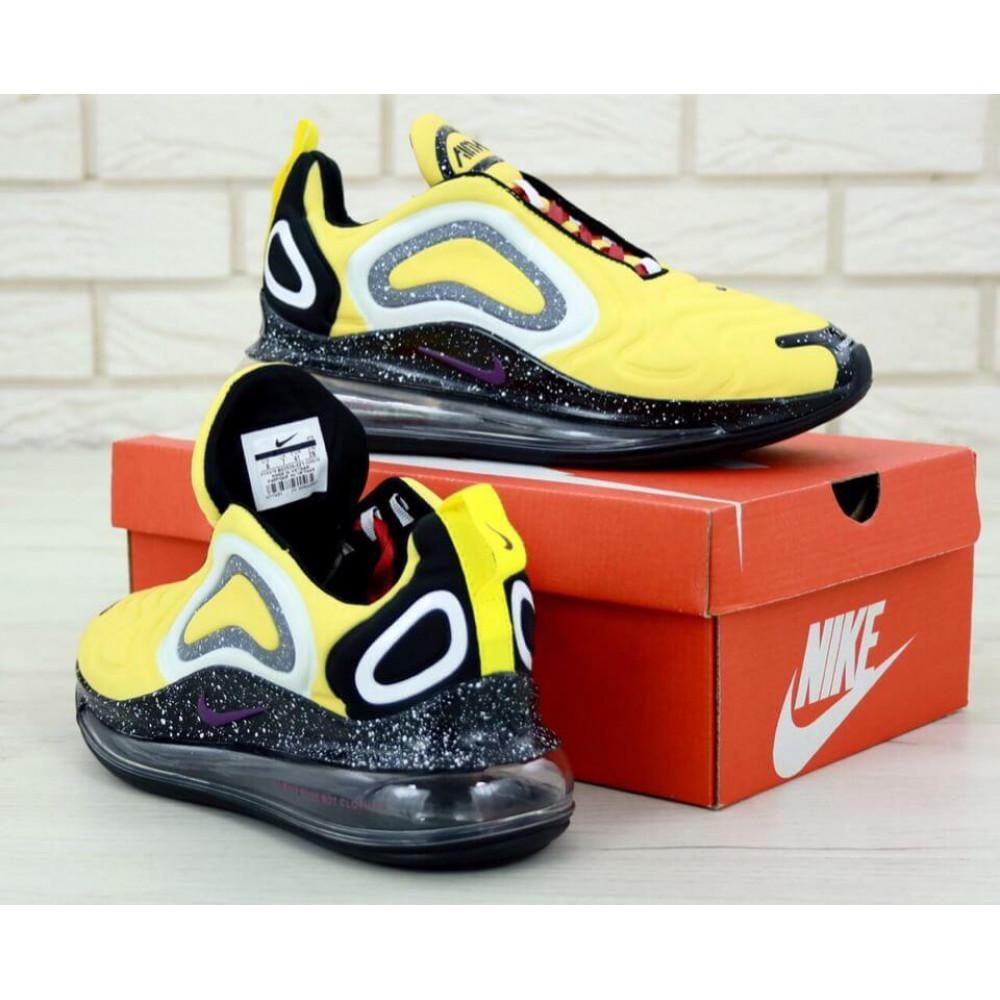 Классические кроссовки мужские - Мужские кроссовки Найк Аир Макс 720 желтые 4