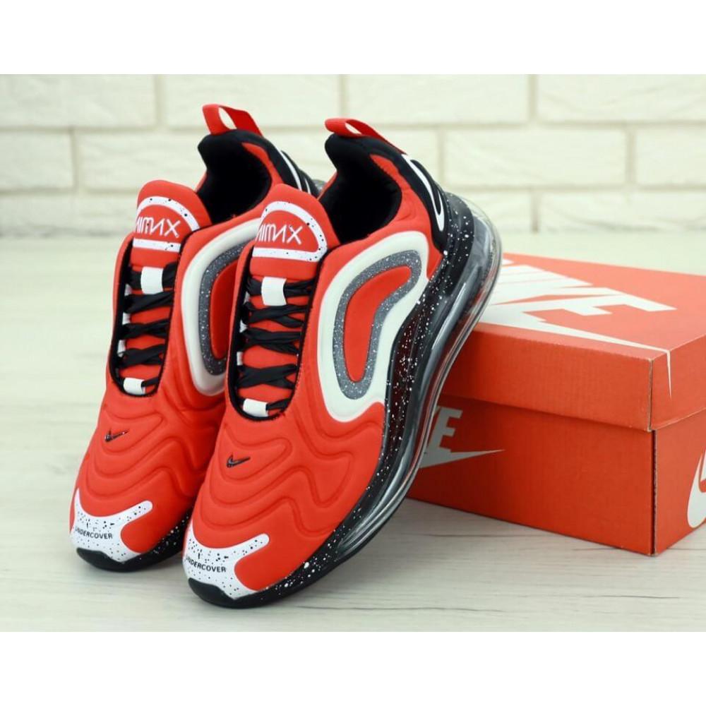 Беговые кроссовки мужские  - Мужские красные кроссовки Найк Аир Макс 720 1