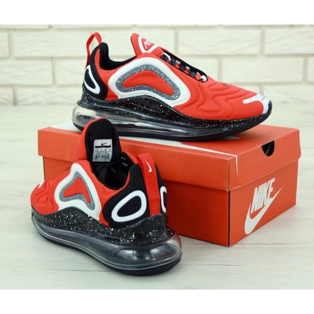 Беговые кроссовки мужские  - Мужские красные кроссовки Найк Аир Макс 720