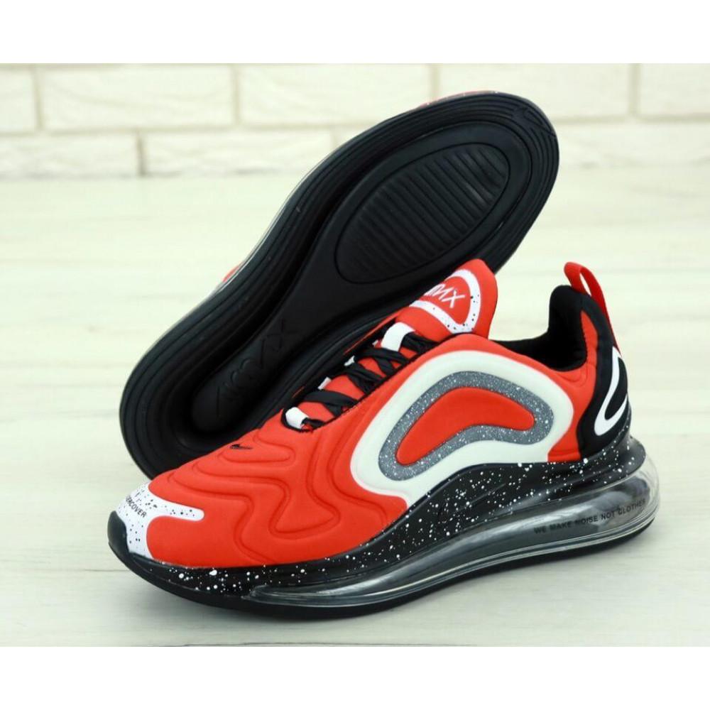 Беговые кроссовки мужские  - Мужские красные кроссовки Найк Аир Макс 720 2