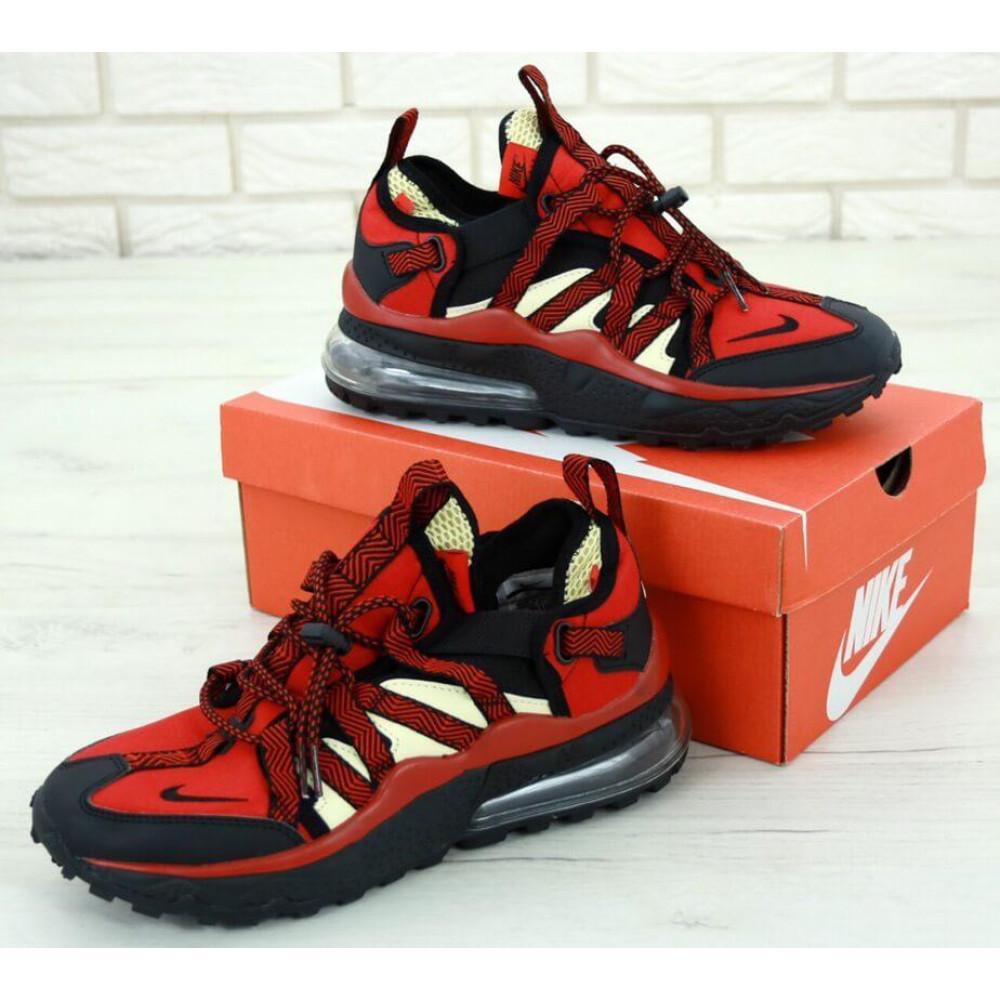 Демисезонные кроссовки мужские   - Мужские кроссовки Air Max 270 Bowfin Красные 3