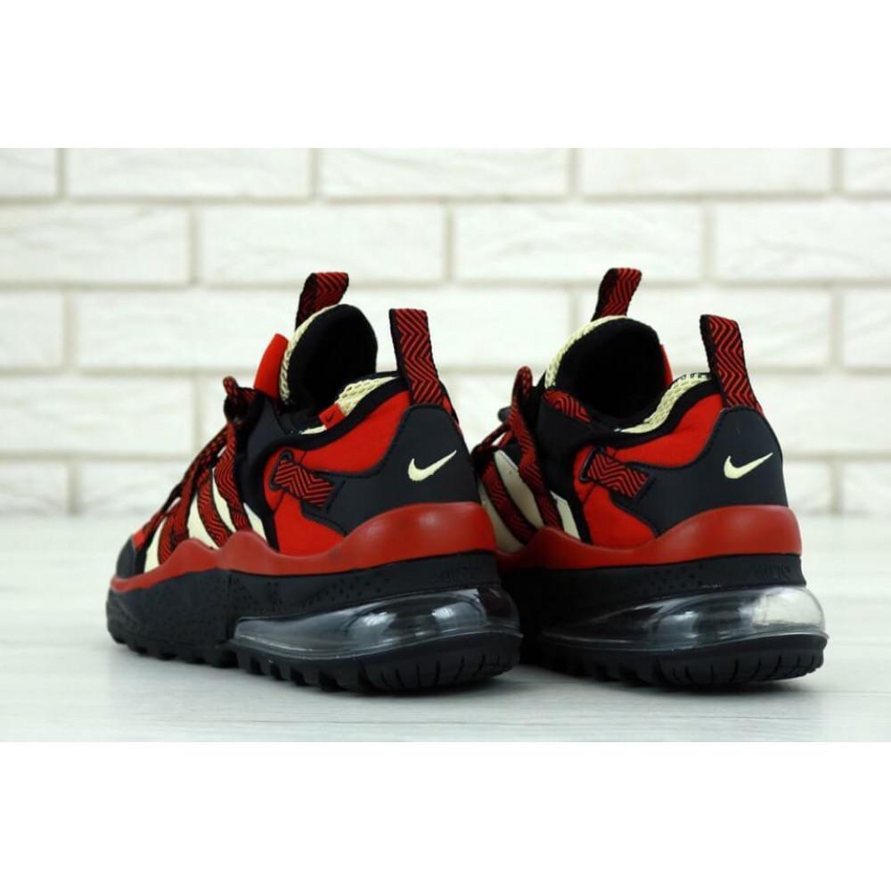 Демисезонные кроссовки мужские   - Мужские кроссовки Air Max 270 Bowfin Красные 4