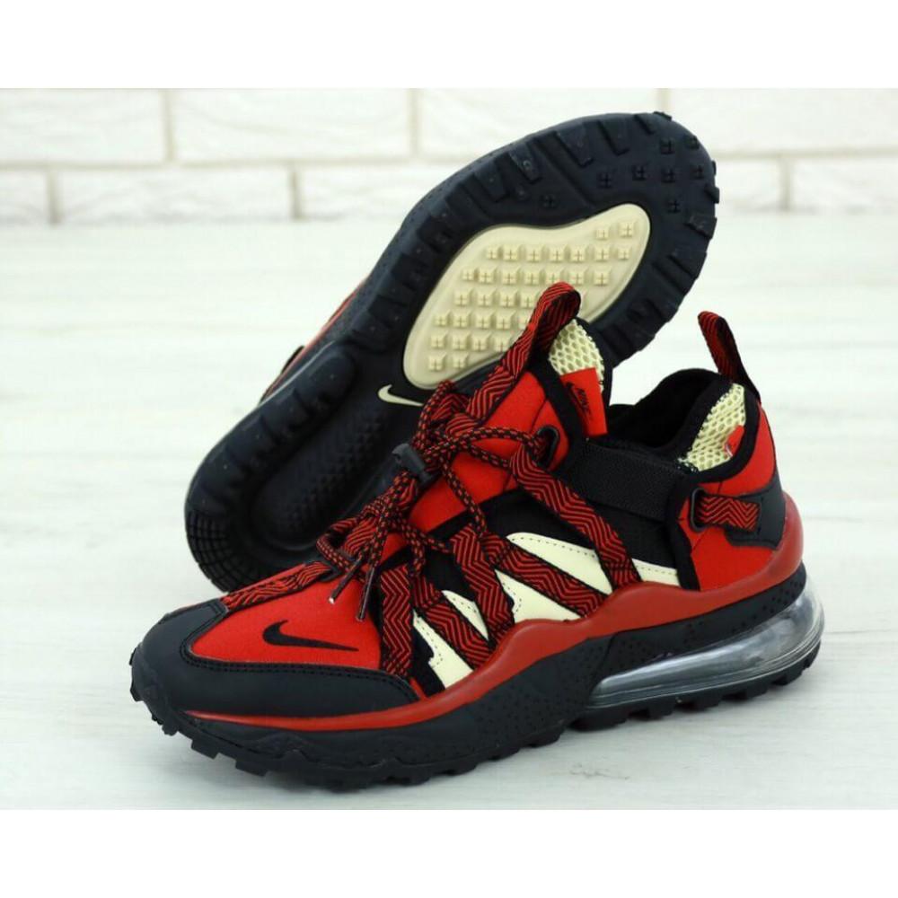 Демисезонные кроссовки мужские   - Мужские кроссовки Air Max 270 Bowfin Красные 1