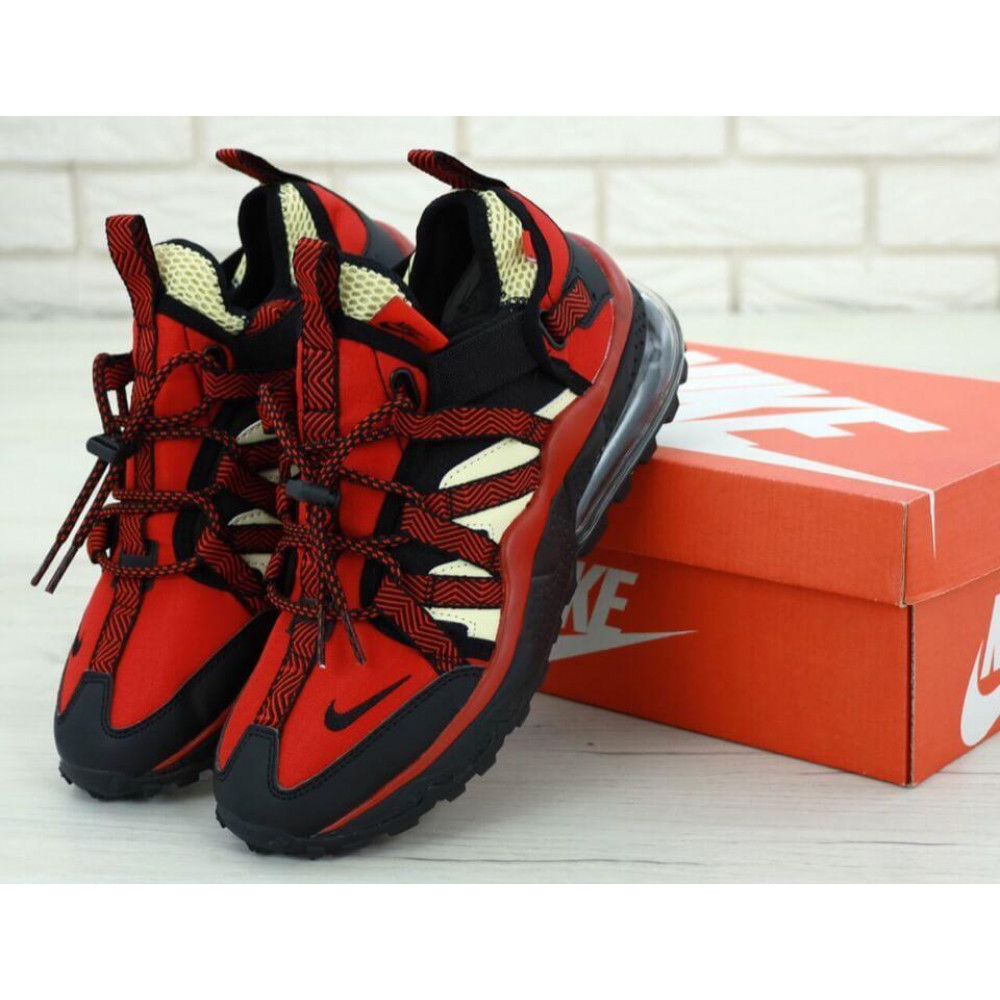 Демисезонные кроссовки мужские   - Мужские кроссовки Air Max 270 Bowfin Красные