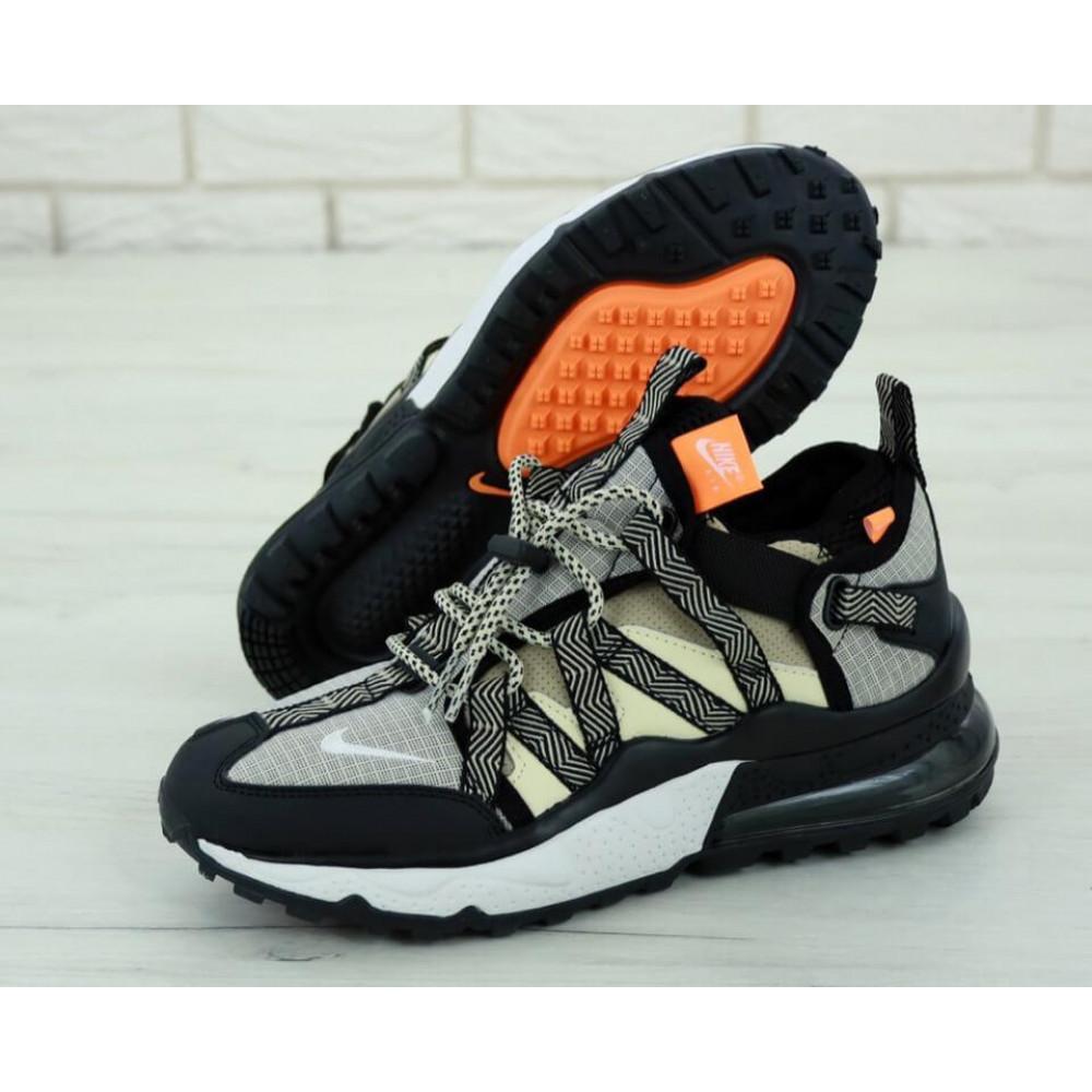 Демисезонные кроссовки мужские   - Кроссовки Найк Аир Макс 270 Bowfin Серые 1