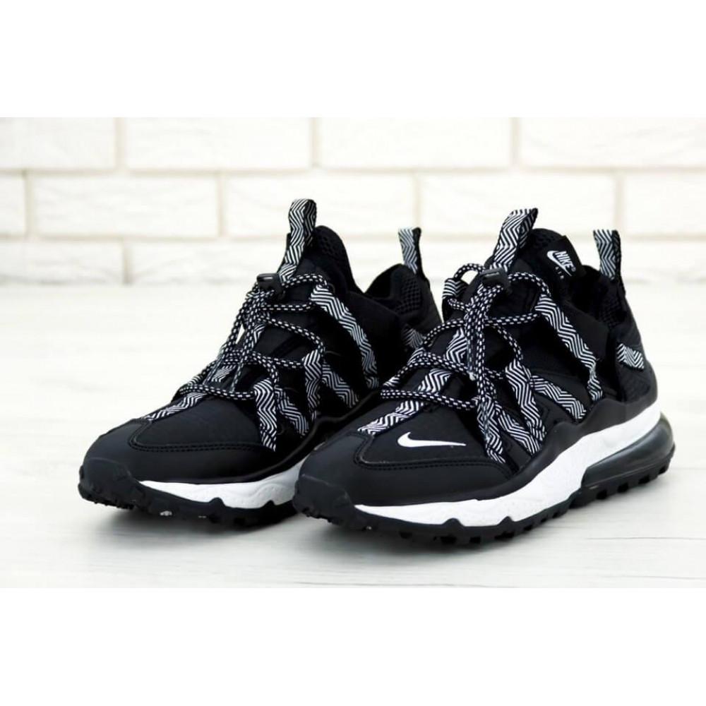 Демисезонные кроссовки мужские   - Кроссовки Найк Аир Макс 270 Bowfin Черные 2