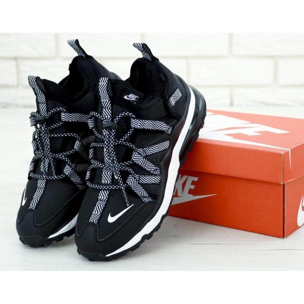 Демисезонные кроссовки мужские   - Кроссовки Найк Аир Макс 270 Bowfin Черные