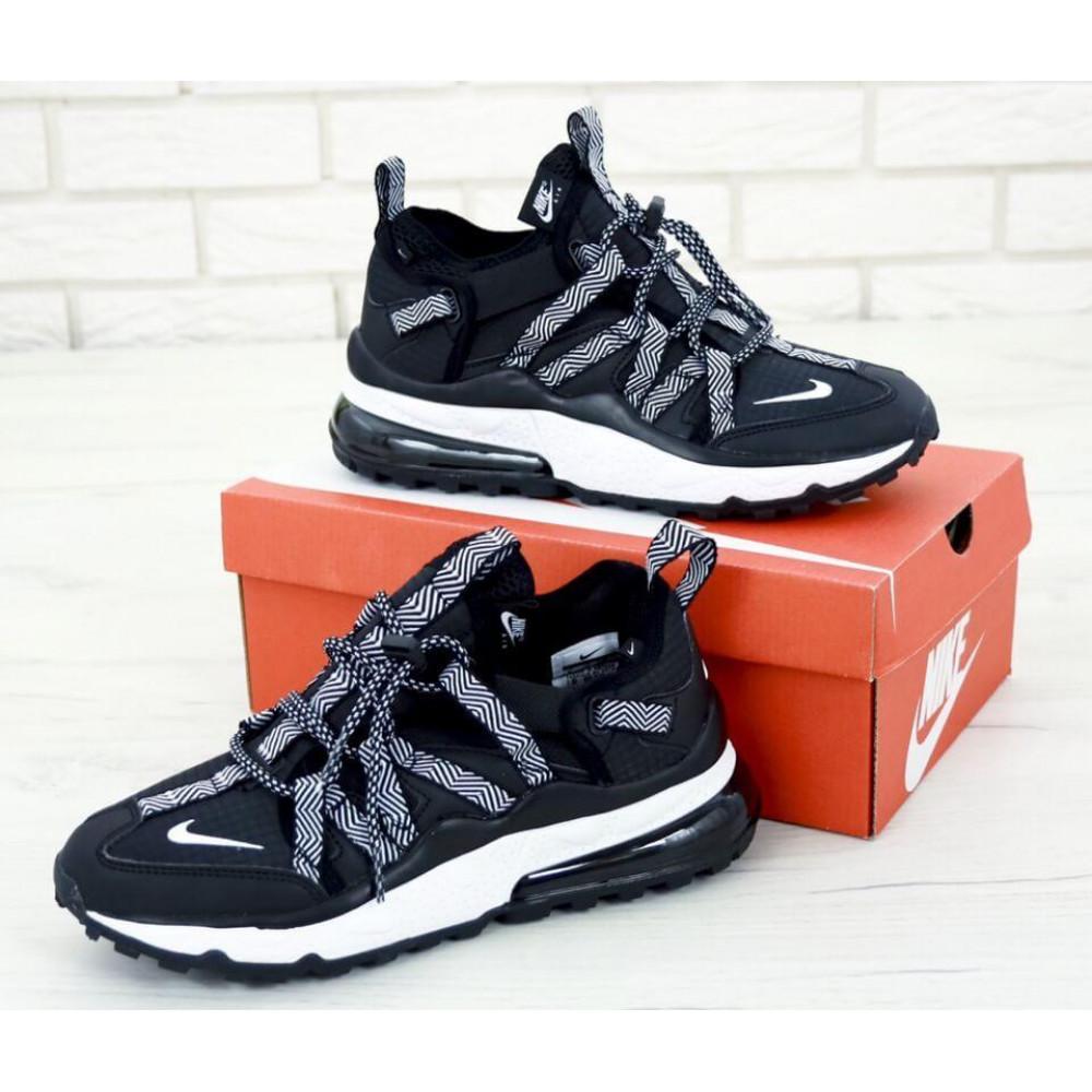 Демисезонные кроссовки мужские   - Кроссовки Найк Аир Макс 270 Bowfin Черные 4