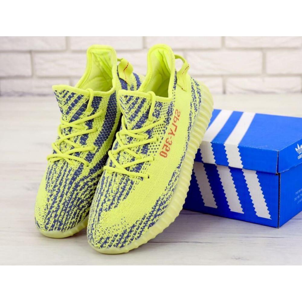 Летние кроссовки мужские - Мужские желтые кроссовки Adidas Yeezy Boost 350