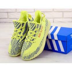 Мужские желтые кроссовки Adidas Yeezy Boost 350