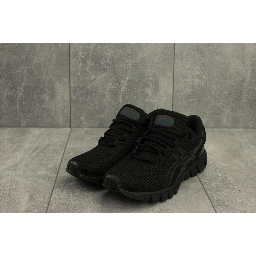 Демисезонные кроссовки мужские   - Мужские кроссовки текстильные весна/осень черные Aoka A 740 -1 1