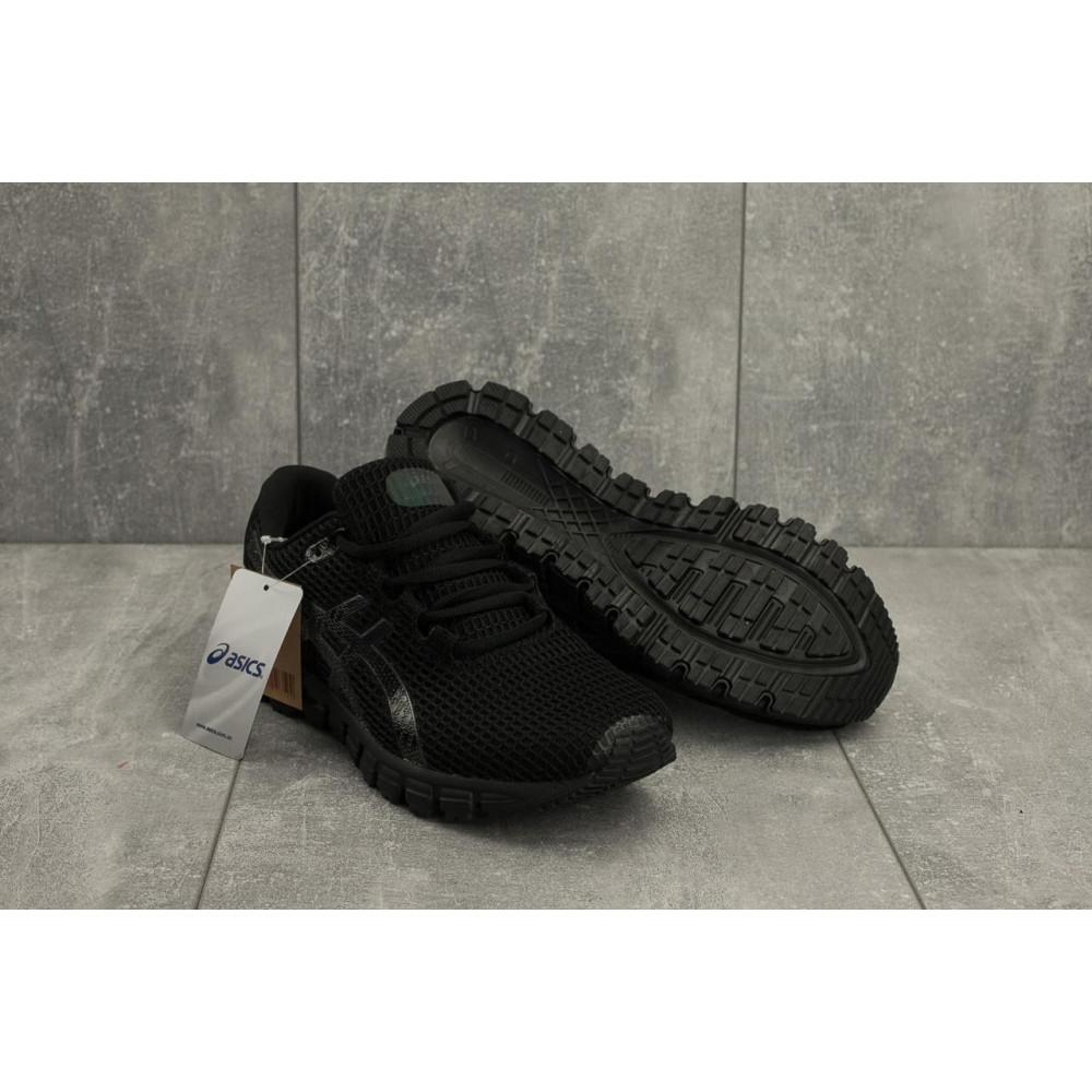 Демисезонные кроссовки мужские   - Мужские кроссовки текстильные весна/осень черные Aoka A 740 -1 4
