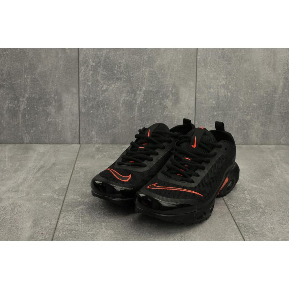 Демисезонные кроссовки мужские   - Мужские кроссовки текстильные весна/осень черные-красные Aoka A 730 -6 1