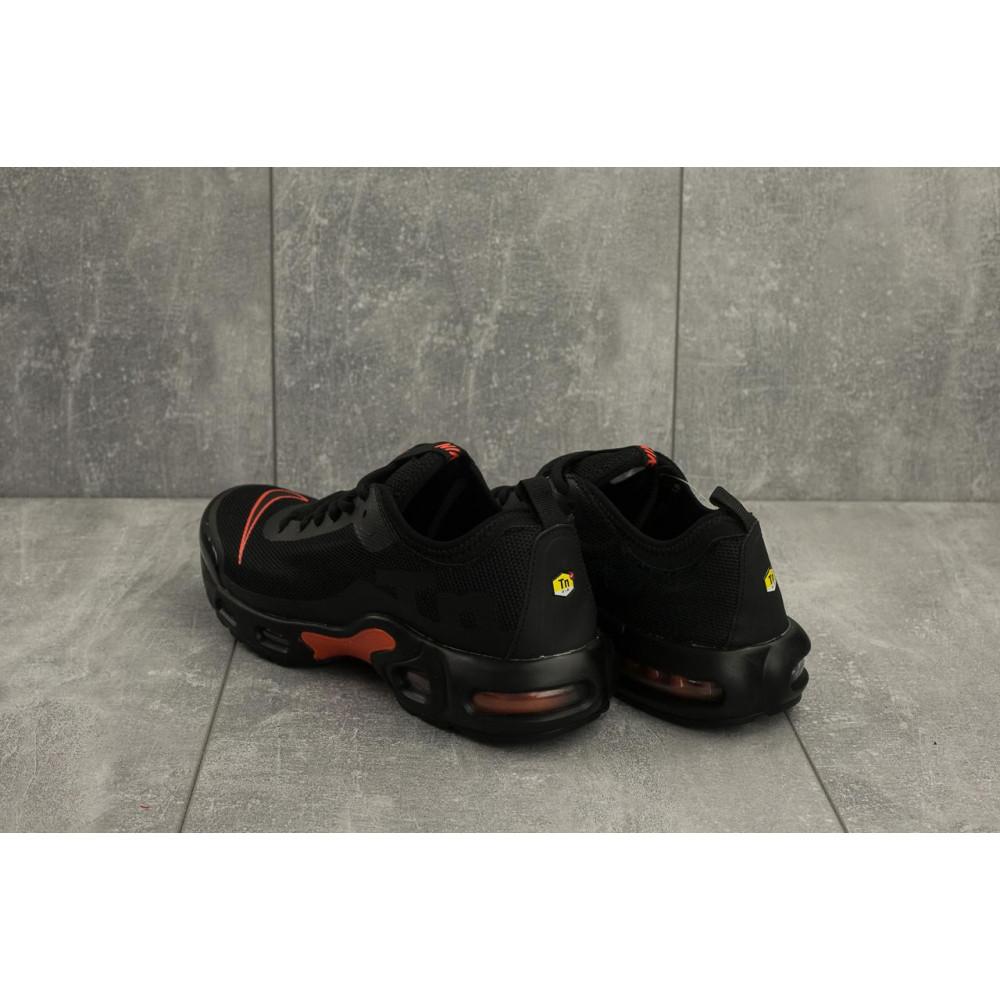 Демисезонные кроссовки мужские   - Мужские кроссовки текстильные весна/осень черные-красные Aoka A 730 -6 3