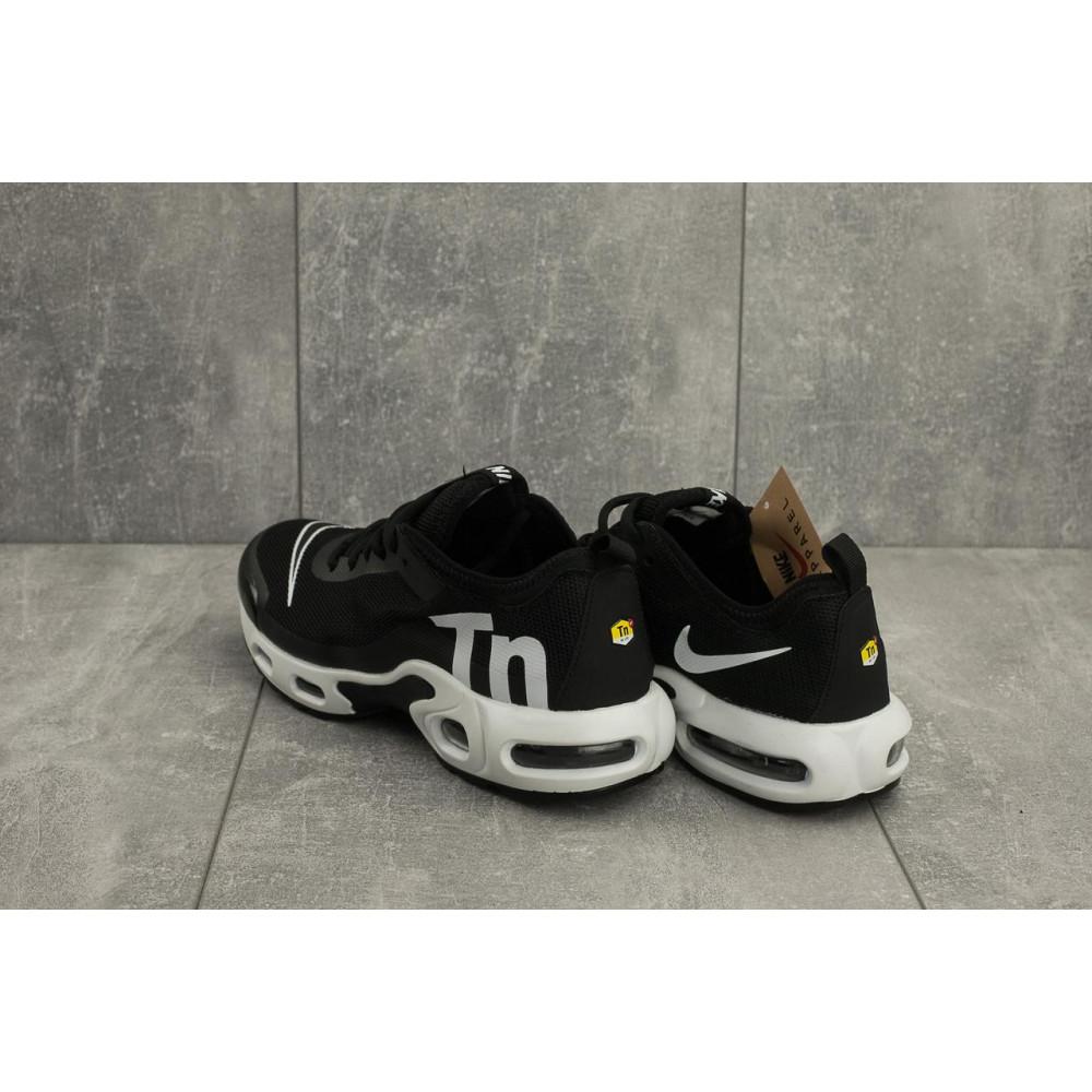 Демисезонные кроссовки мужские   - Мужские кроссовки текстильные весна/осень черные-белые Aoka A 730 -7 2