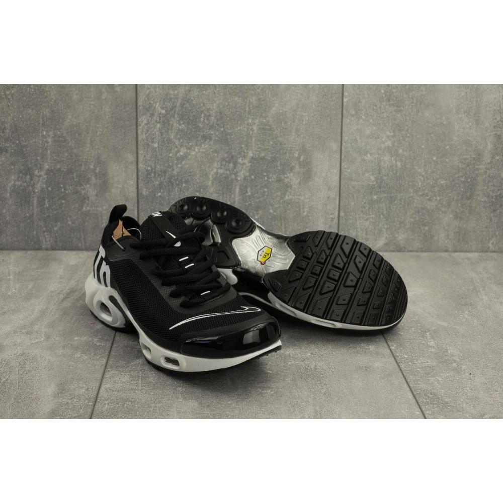 Демисезонные кроссовки мужские   - Мужские кроссовки текстильные весна/осень черные-белые Aoka A 730 -7 1
