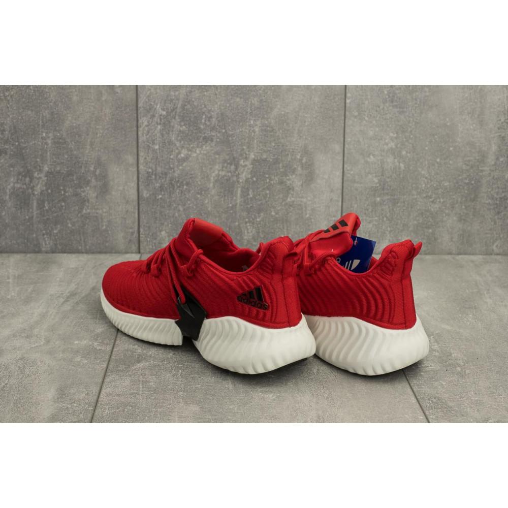 Демисезонные кроссовки мужские   - Мужские кроссовки текстильные весна/осень красные Ditof A 165 -1 2