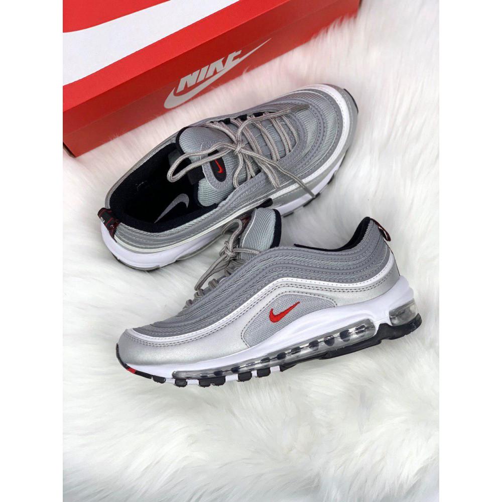 Демисезонные кроссовки мужские   - Мужские кроссовки Air Max 97 Silver Bullet 7
