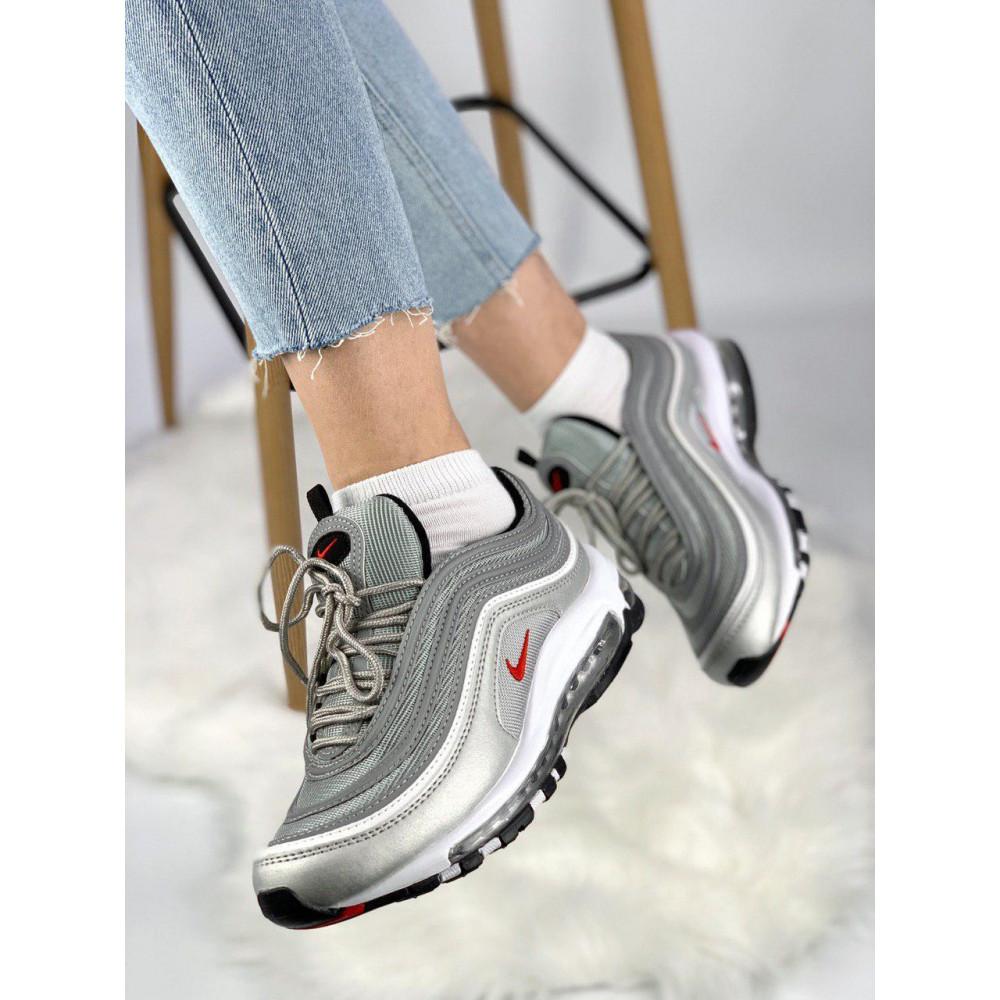 Демисезонные кроссовки мужские   - Мужские кроссовки Air Max 97 Silver Bullet 4
