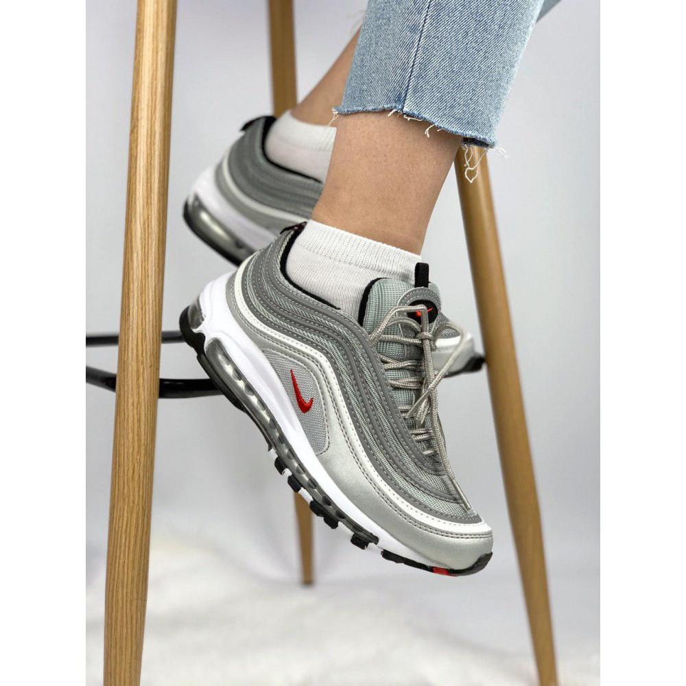Демисезонные кроссовки мужские   - Мужские кроссовки Air Max 97 Silver Bullet 8