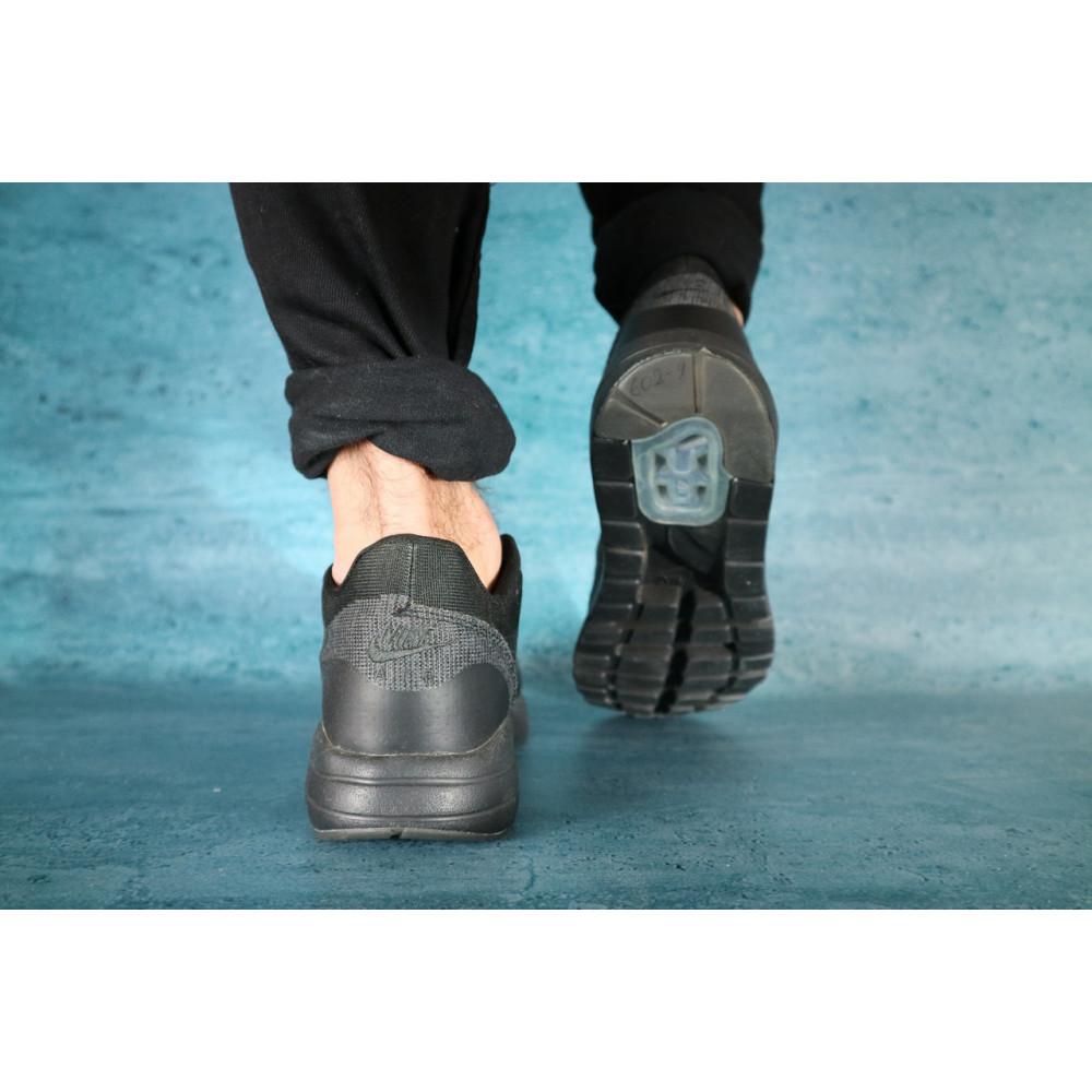 Демисезонные кроссовки мужские   - Мужские кроссовки текстильные весна/осень черные Classica А 602 3