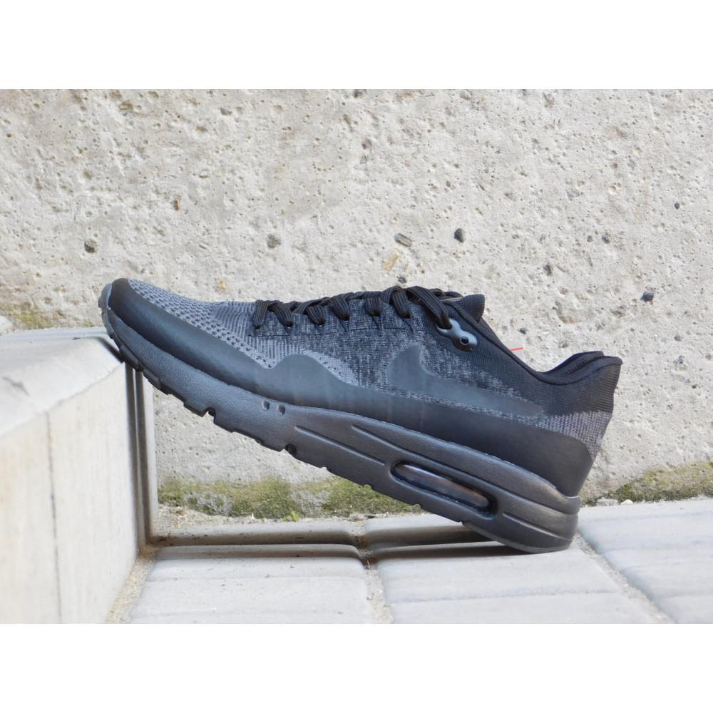 Демисезонные кроссовки мужские   - Мужские кроссовки текстильные весна/осень черные Classica А 602 5