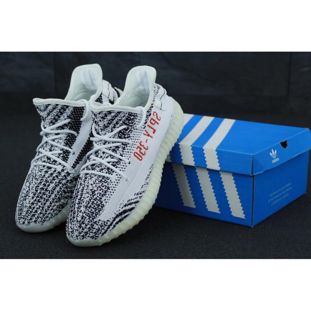 Демисезонные кроссовки мужские   - Кроссовки Adidas Yeezy Boost 700 Light Grey