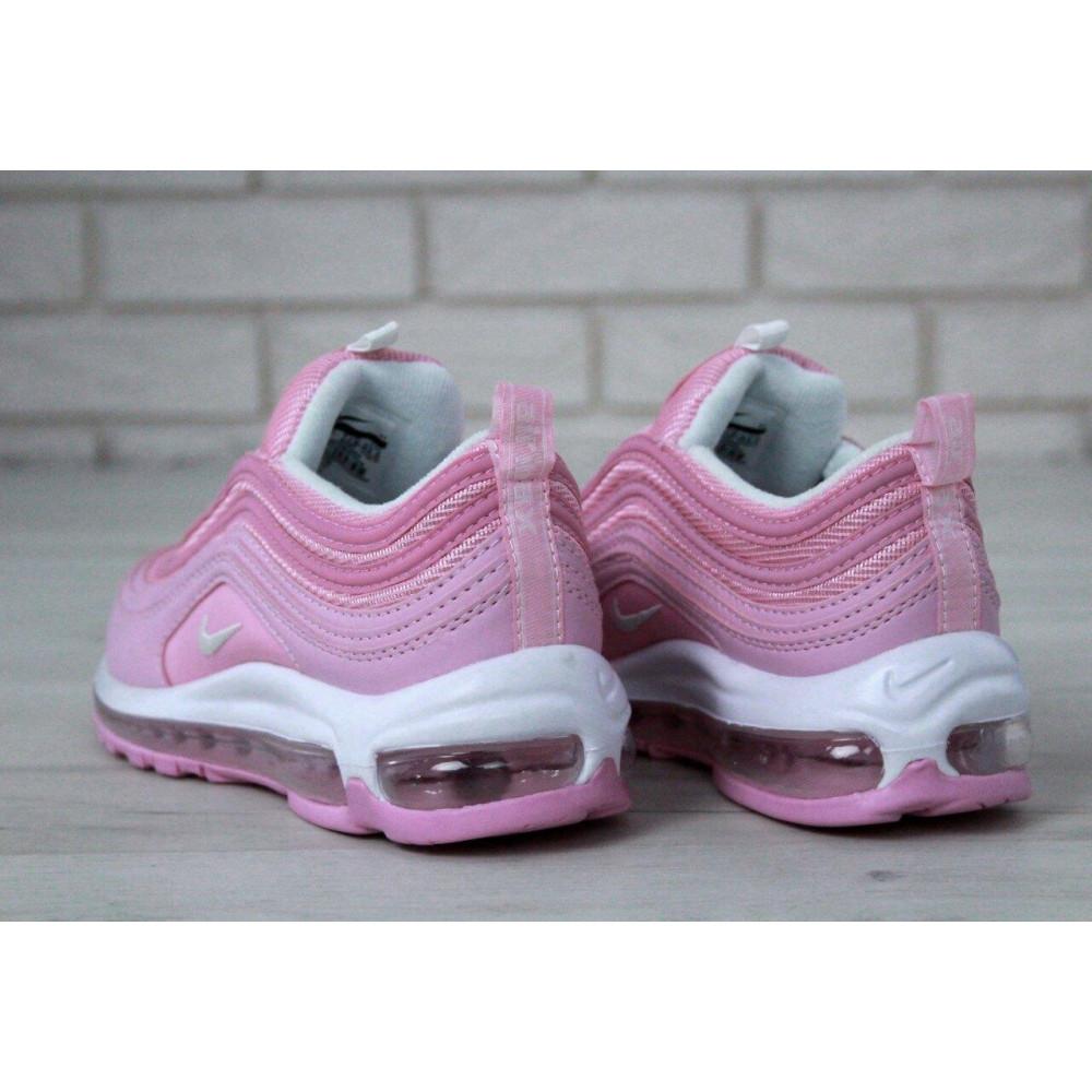 Женские кроссовки классические  - Женские розовые кроссовки Nike Air Max 97 3