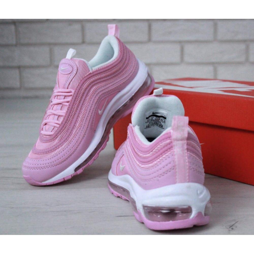 Женские кроссовки классические  - Женские розовые кроссовки Nike Air Max 97 4