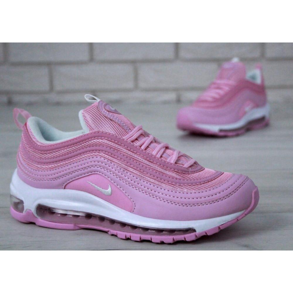 Женские кроссовки классические  - Женские розовые кроссовки Nike Air Max 97 8