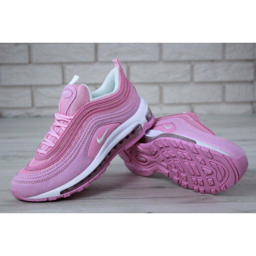 Женские кроссовки классические  - Женские розовые кроссовки Nike Air Max 97 6