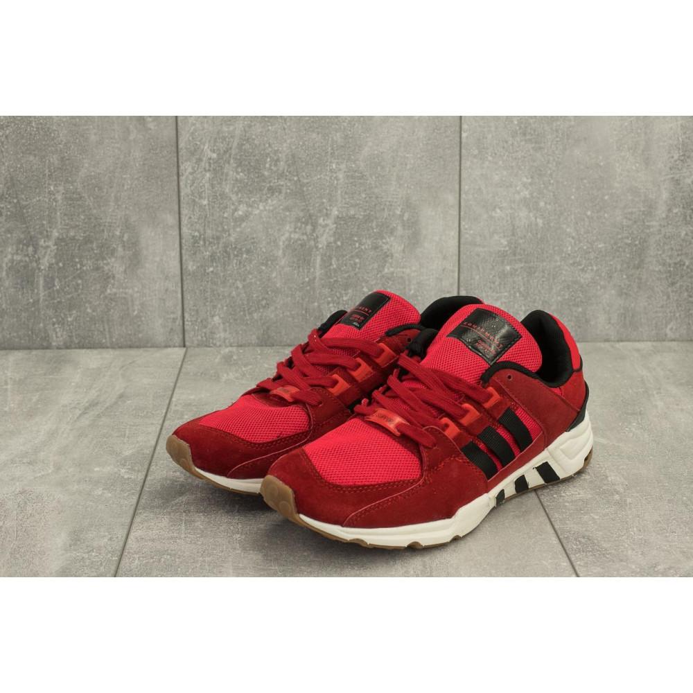 Классические кроссовки мужские - Мужские кроссовки искусственная замша весна/осень красные Ditof A 177 -13 4