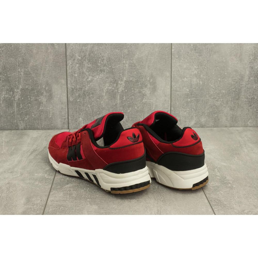 Классические кроссовки мужские - Мужские кроссовки искусственная замша весна/осень красные Ditof A 177 -13 2