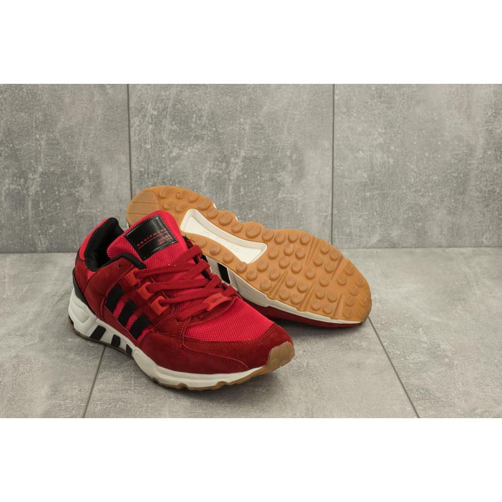 Классические кроссовки мужские - Мужские кроссовки искусственная замша весна/осень красные Ditof A 177 -13 1