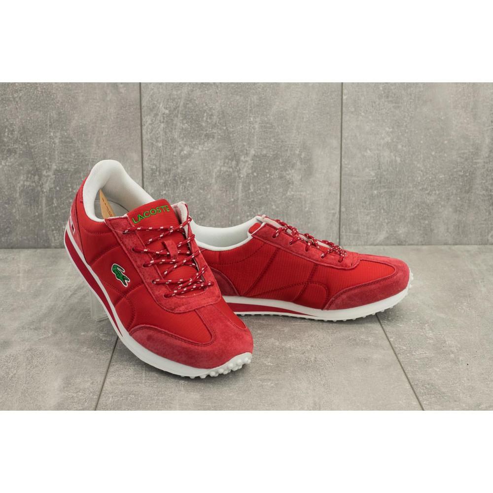 Демисезонные кроссовки мужские   - Мужские кроссовки текстильные весна/осень красные Ditof A 1084 -5