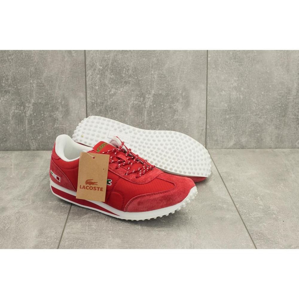Демисезонные кроссовки мужские   - Мужские кроссовки текстильные весна/осень красные Ditof A 1084 -5 1